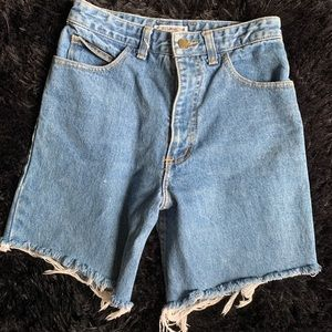 Vintage guess x georges Marciano cut offs